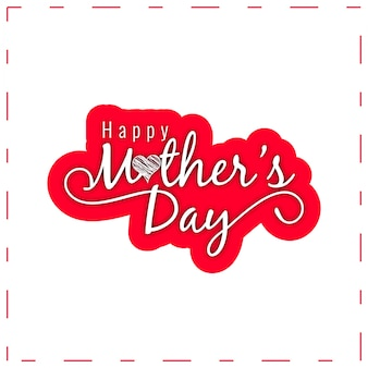 Счастливый день матери elegan текст дизайн фона