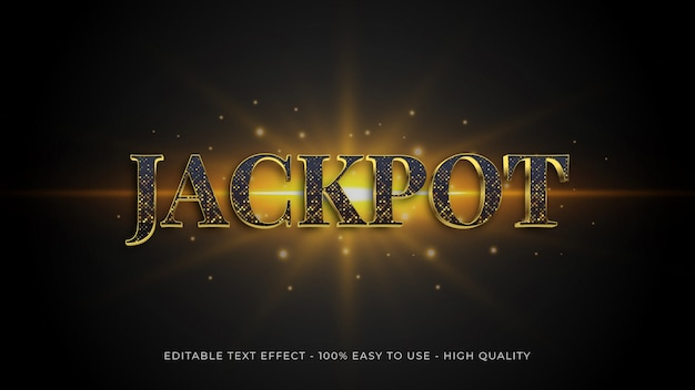 Elegance editable text effect