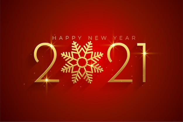 Elegant 2021 happy new year and merry christmas background