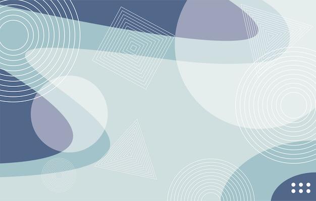 Элегантный абстрактный синий фон