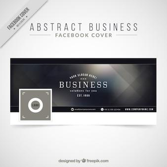 Элегантный абстрактный facebook обложка для бизнеса