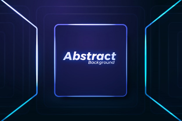 Elegant abstract neon backgroun