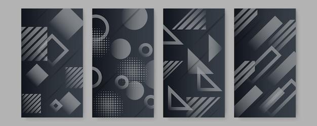 エレガントな抽象的なトレンディなユニバーサル背景テンプレート。ミニマリストの美学