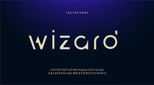 Элегантный шрифт букв алфавита. современные шрифты с засечками минималистичная мода