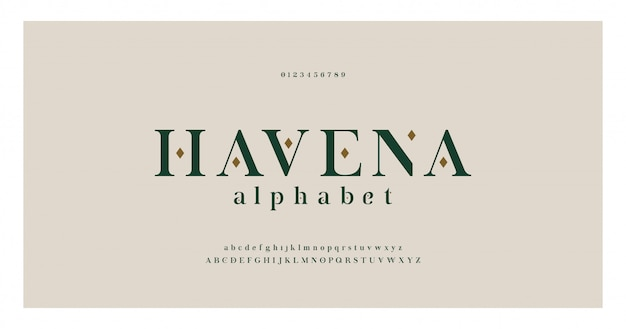 Elegant alphabet letters serif font and number. classic typography fonts regular uppercase, lowercase and numbers.