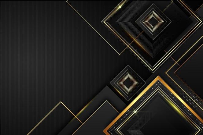 エレガントで金色のデザイン要素の背景