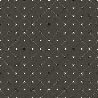 Элегантный и роскошный геометрический узор в виде точек. простая геометрическая сетка