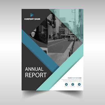 Elegant annual report brochure