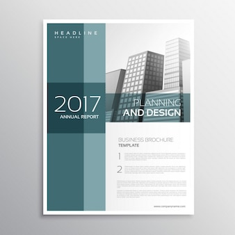 Elegant annual report business brochure
