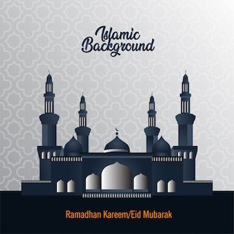 Elegant arabic background