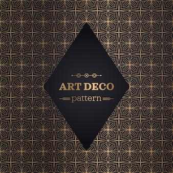 Elegant art deco pattern