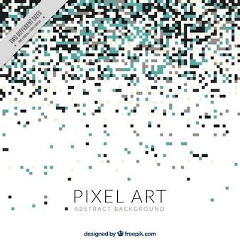 Elegant background of pixels
