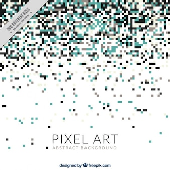 Elegant background of pixels