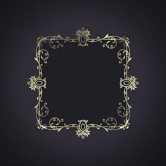 Elegant background with a decorative frame
