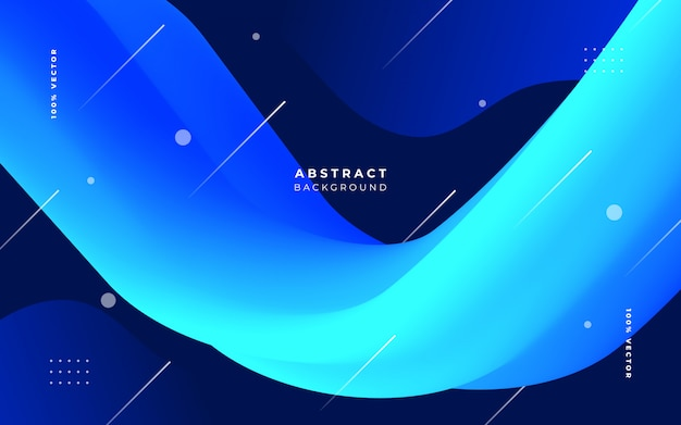Elegant background with fluid shapes