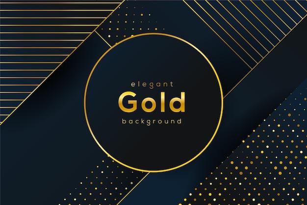 黄金の詳細とエレガントな背景