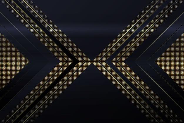 Elegant background with golden details