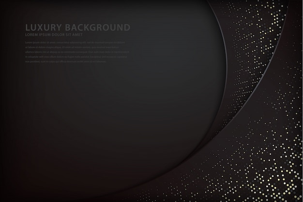 Elegant background with overlap style and sparkling spots