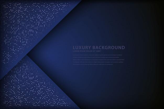 Elegant background with overlap style