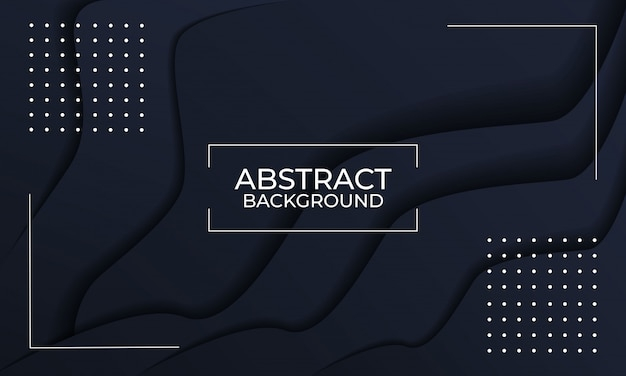 Elegant black abstract background