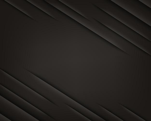 레이아웃 디자인을 위한 우아한 검정색 배경