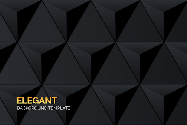 Elegant black business background