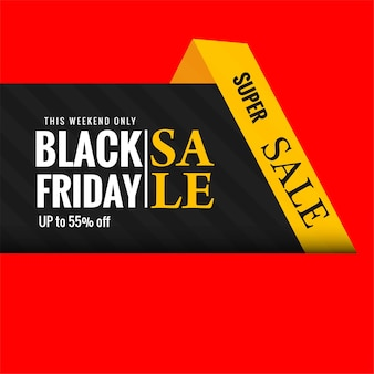 Elegante vendita venerdì nero creativa