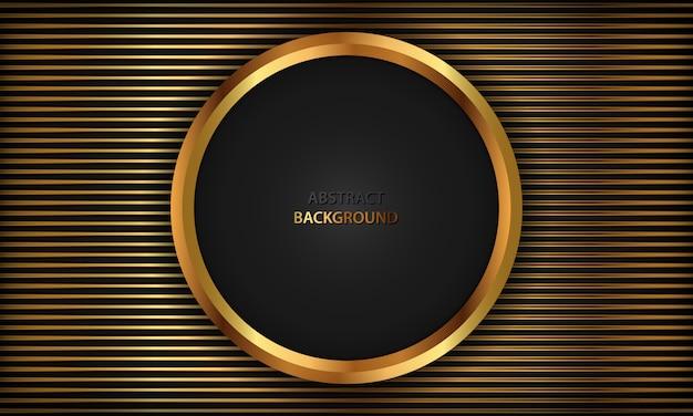 Elegant black luxury background