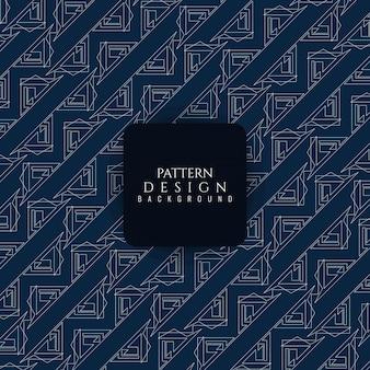 Elegant blue geometric pattern