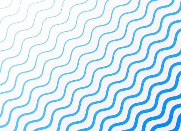 Элегантный синий волнистый узор фон