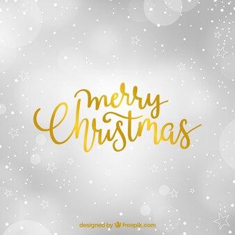 Elegant blurred background for merry christmas