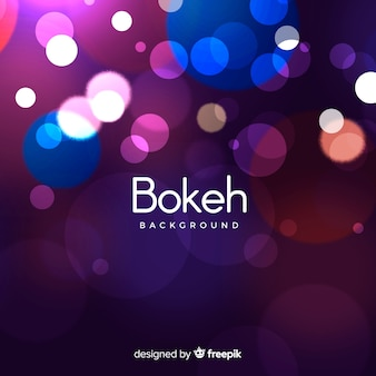 Elegant bokeh background design