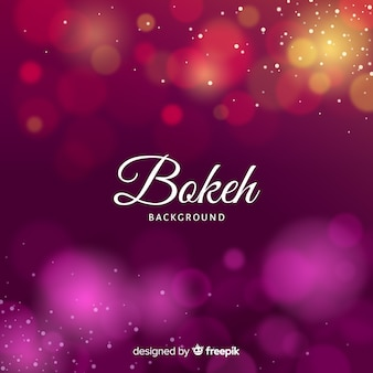 Elegant bokeh background