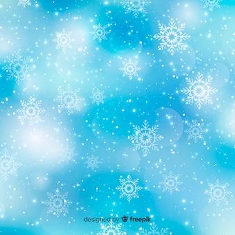 Elegant bokeh christmas background