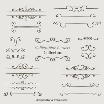 Elegant borders collection