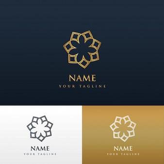 エレガントなブランドのロゴデザイン
