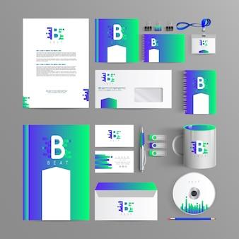 Elegant branding for your company