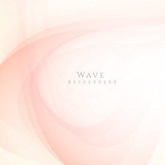 Elegant bright wavy background