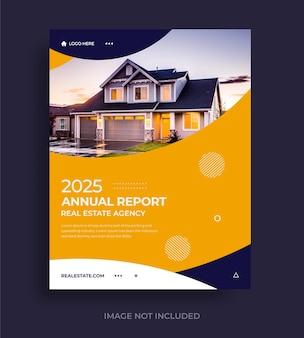 エレガントなビジネス年次報告書テンプレート
