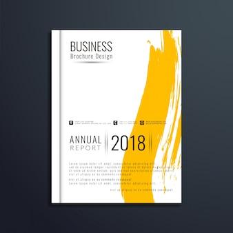Elegant business brochure template design