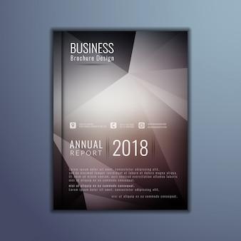 Шаблон элегантной деловой брошюры