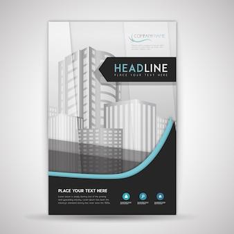 Элегантная деловая брошюра