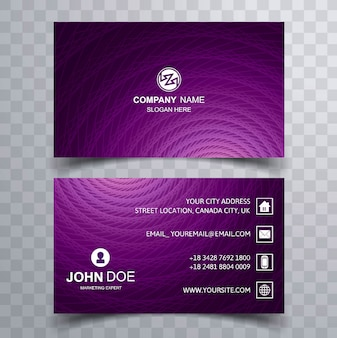 Elegant business card background vector