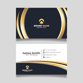 Elegant business card concept
