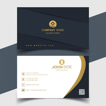 Elegant business card creative design