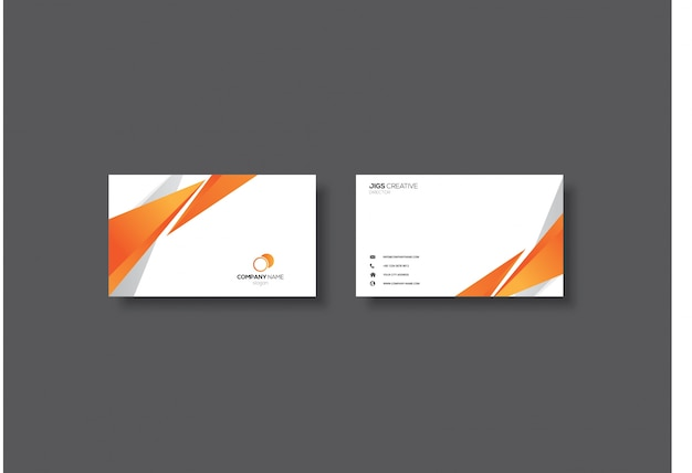 Elegant business card desig