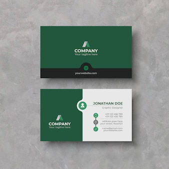 Elegant business card design template