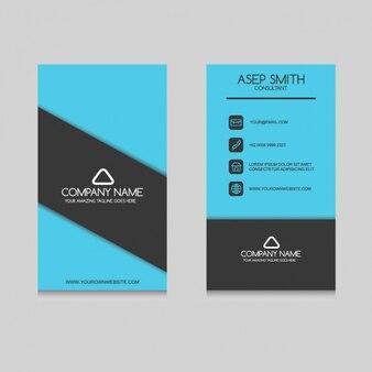 Elegant business card design Free Vector