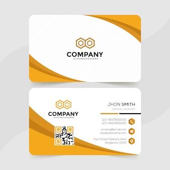 Elegant business card premium