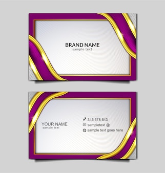 Elegant bussines card template